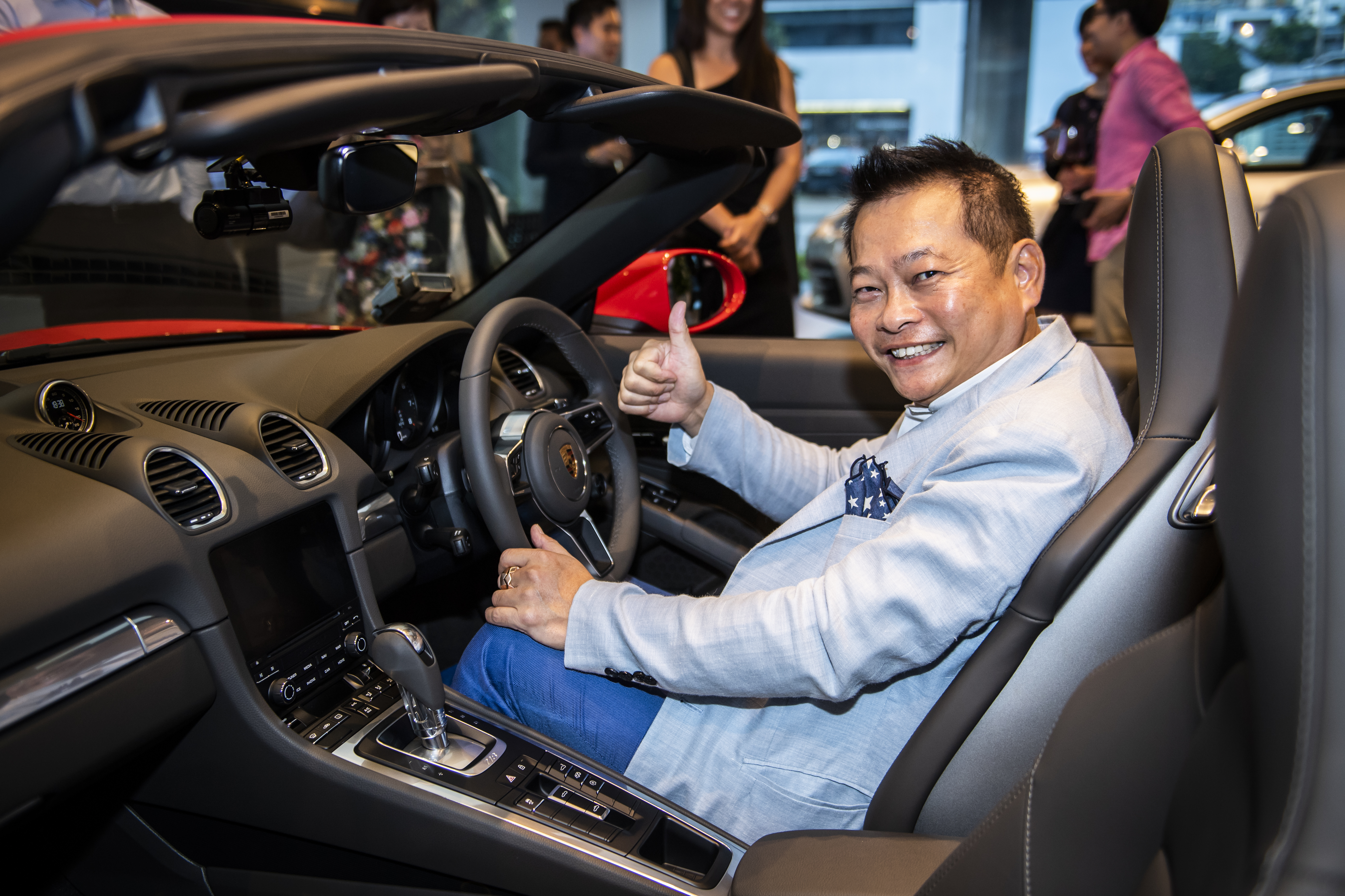 Mr Joe Goh, the proud owner of the 6,000th Porsche car in Singapore (2)