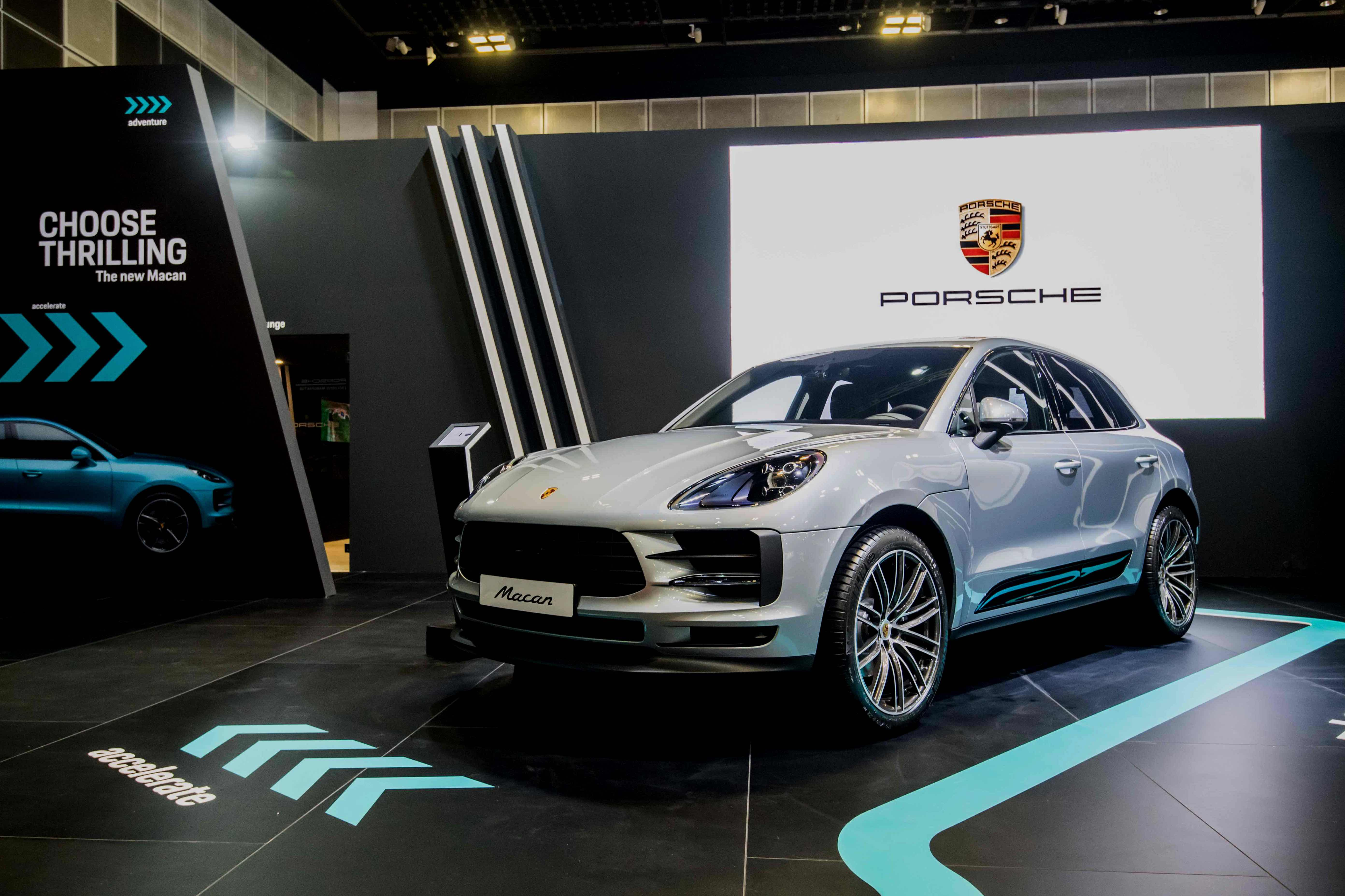 The premiere of the new Porsche Macan