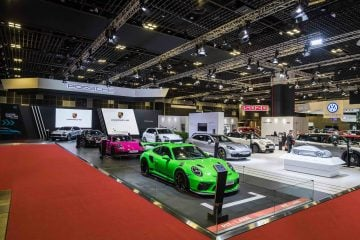 Porsche at the Singapore Motorshow 2019