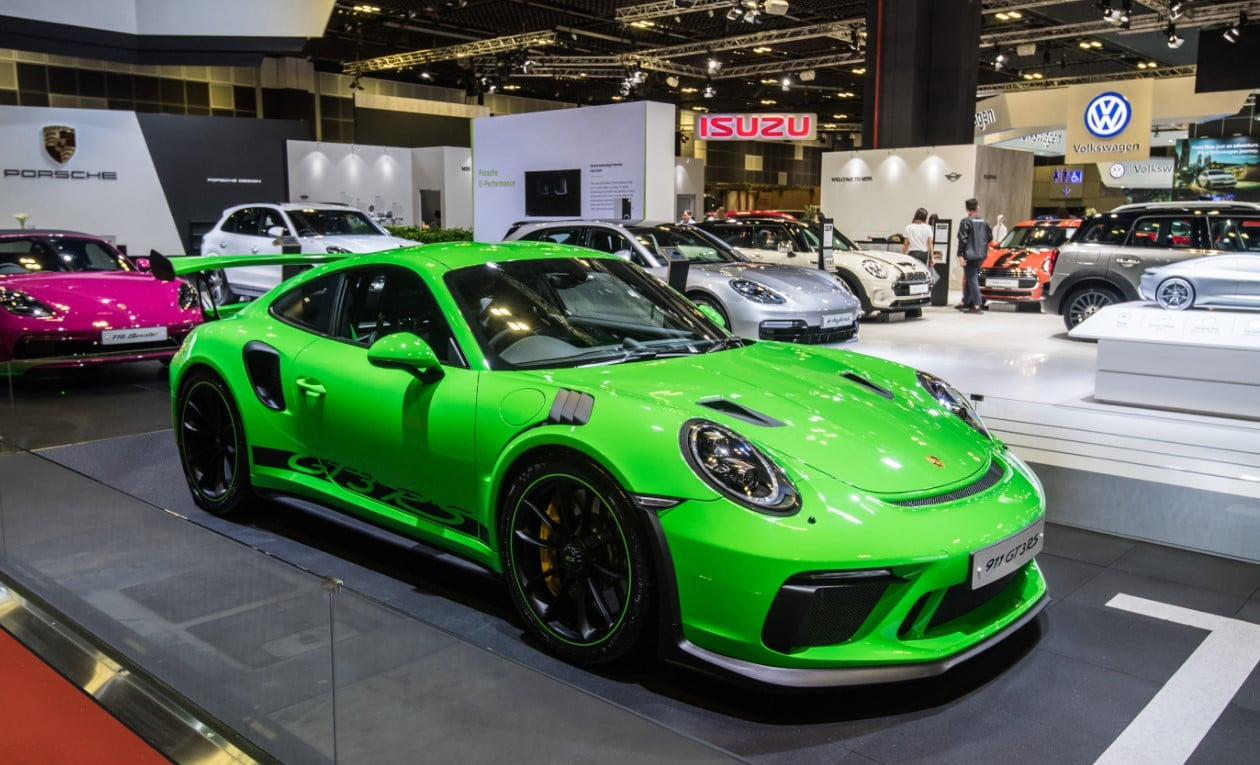 Porsche 911 GT3 RS at the Singapore Motorshow 2019