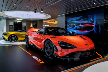 The latest addition to Super Series range and Longtail line-up – the McLaren 765LT in Nardo Orange