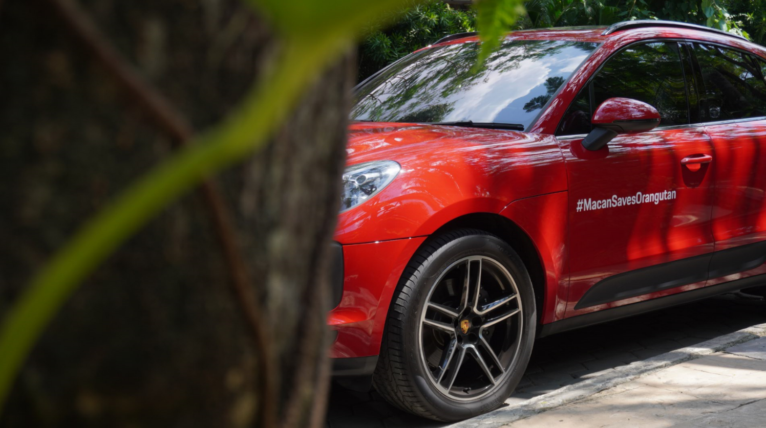 Competitors were given clues to locate the hidden Porsche Macan