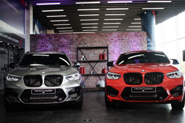 Launch of the BMW X3 M Competition and the BMW X4 M Competition in Indonesia