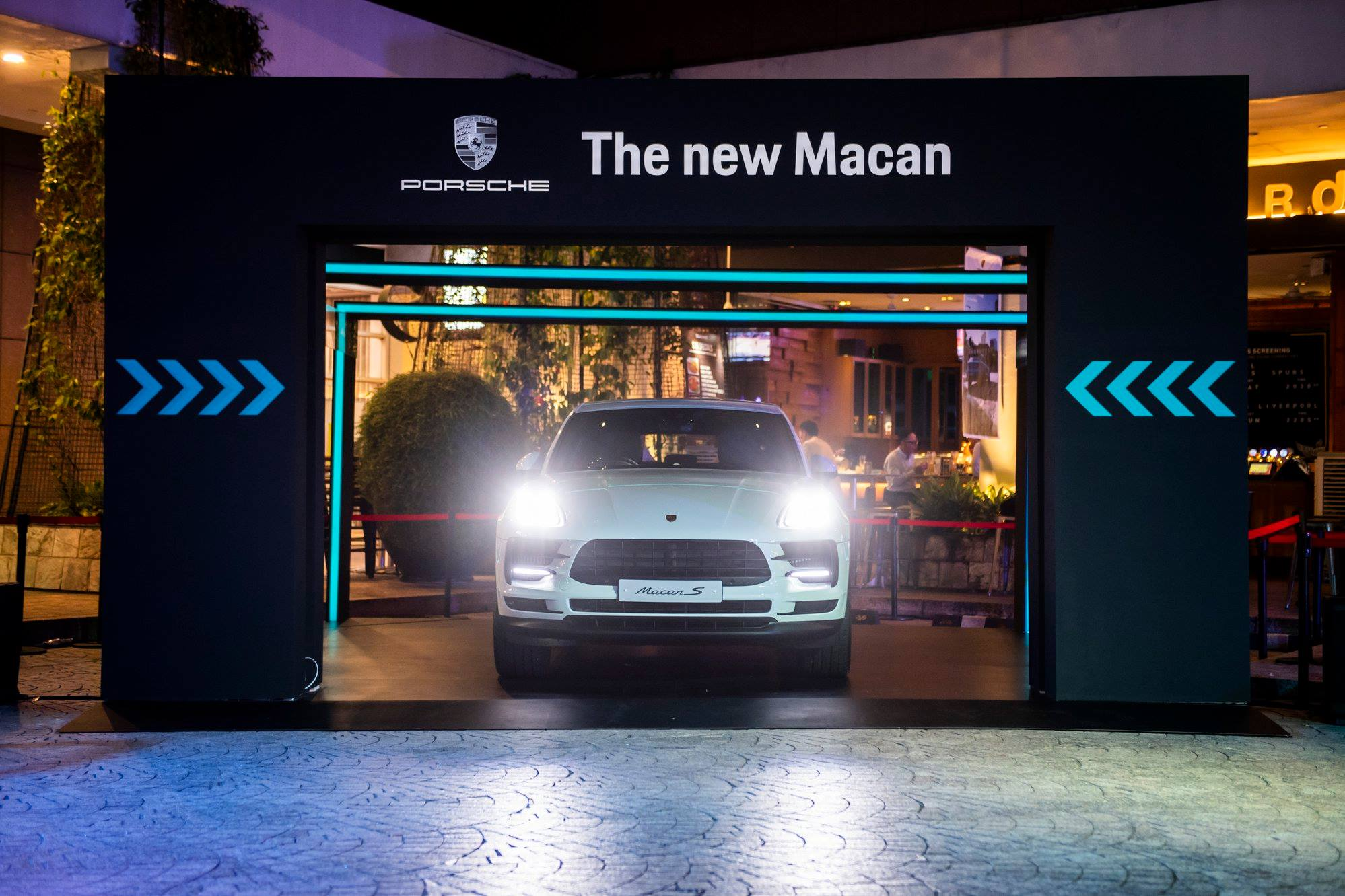 The highlight of the evening was the unveiling of the new Porsche Macan S