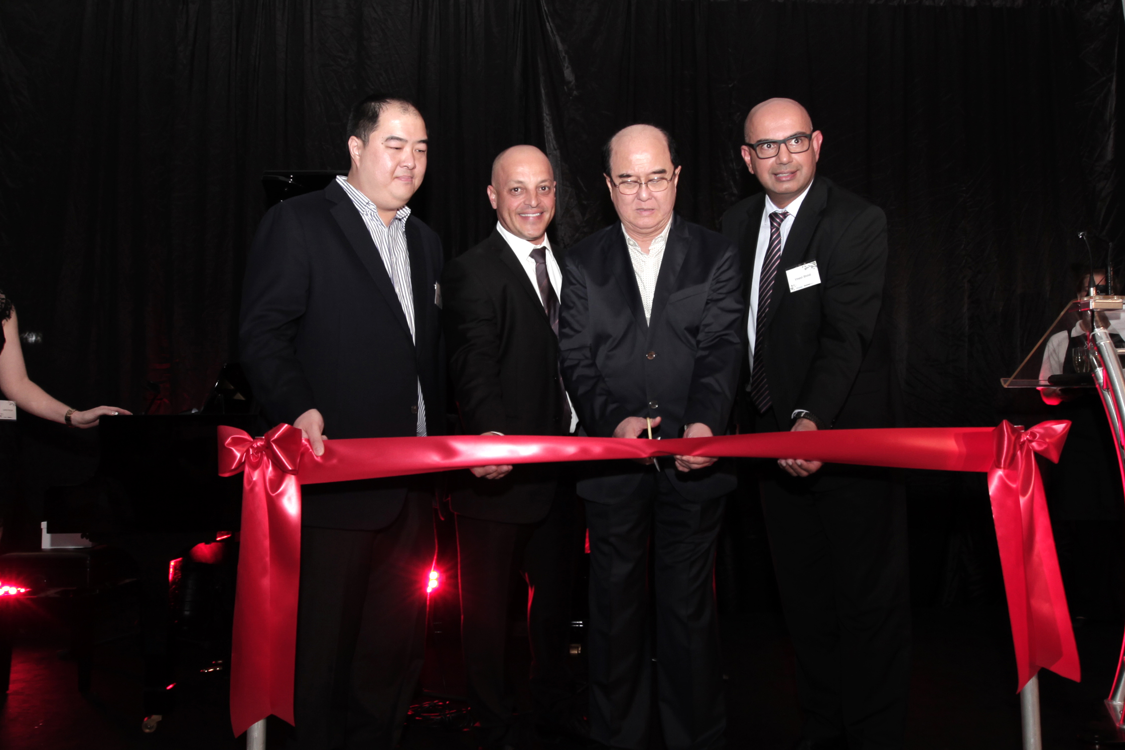 The official opening of the Mazda dealership in Bayswater Western Australia in 2016.