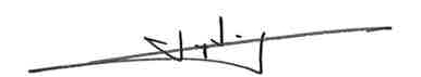 Lay Ling's signature