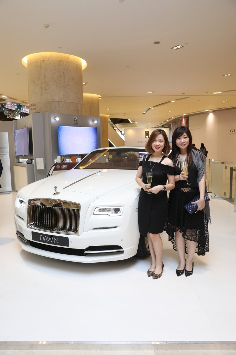 Above from left: Ms Fanna Alidin, Ms Geraldine Tang