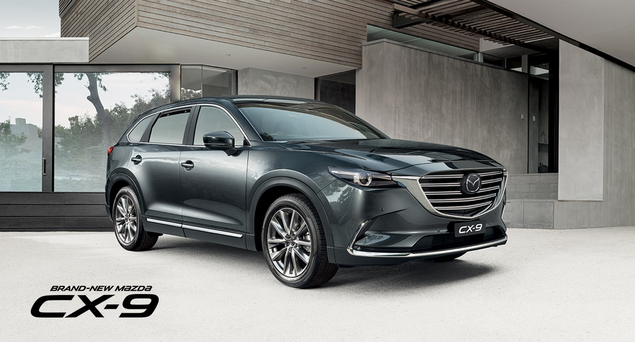 The brand-New Mazda CX-9 Wins Its Second Major Car of the Year Trophy in 2016