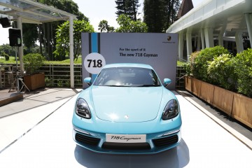 Porsche Indonesia unveiled the all-new Porsche 718 Cayman in a private preview event