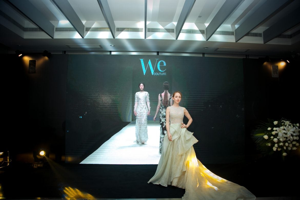 One of the key highlights of the evening – luxury fashion show by We Couture