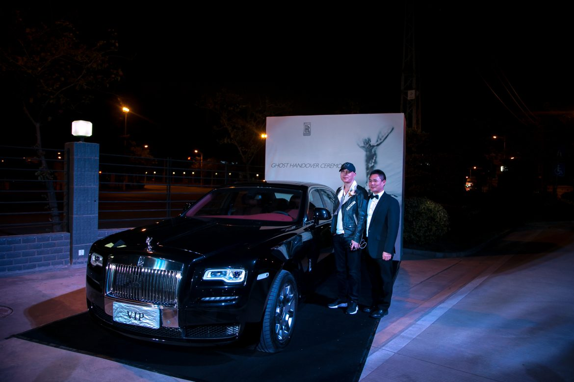 Welcoming a new Rolls-Royce owner to the fraternity