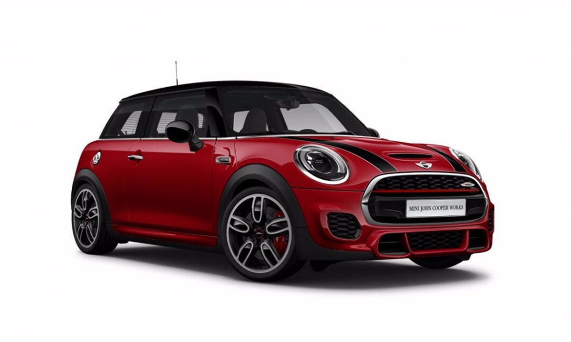 mini john cooper works 3 door 2 0l eurokars leasing. Black Bedroom Furniture Sets. Home Design Ideas