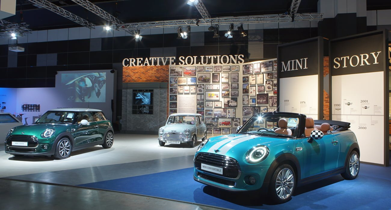 BMW Pre Owned >> The MINI Story at BMW World 2018