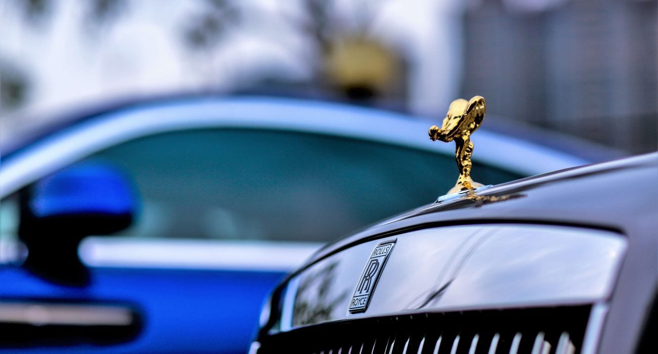 The iconic Rolls-Royce emblem - The Spirit of Ecstasy