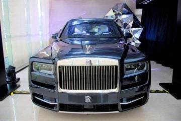 The Rolls-Royce Cullinan Exhibition At Nanning Station