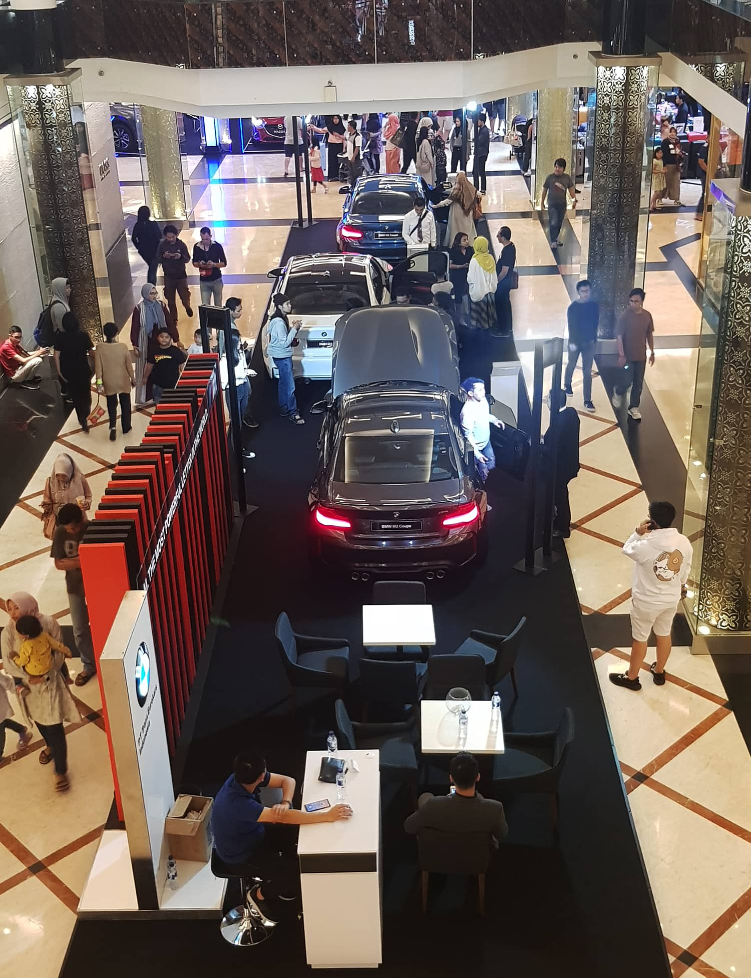 BMW Indonesia showcased its latest range of BMW and BMW M models at an exhibition held at Trans Studio Mall, Bandung from 11 to 17 March 2019