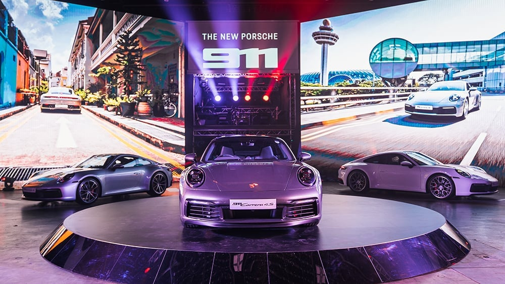 Premiere of the new 911