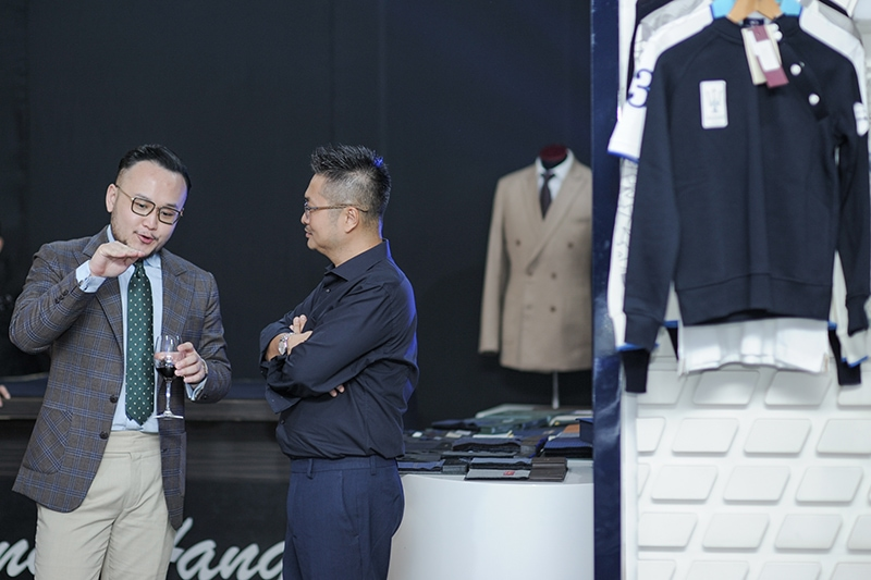 Distinguished tailor Wong Hang was on hand to provide styling and fashion tips